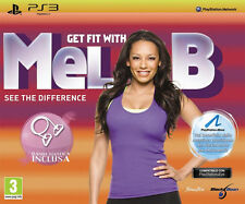 Get Fit With Mel B. (Spice Girls) PS3 Bundle + Elastic Band PS3 Playstation 3