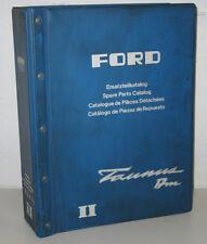 Ersatzteilkatalog Ersatzteilliste Ford Taunus II spare parts catalog Stand 1968!