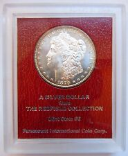 1879 S Morgan Silver Dollar Redfield Hoard Collection Paramount Coin Rim Toned