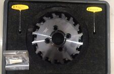 "KENNAMETAL 250mm (9.84"") Indexable Slotting Cutter 250Y16NK20"