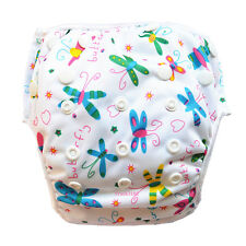 1 Butterfly Swim Diaper Nappy Pants Adjuatable Reusable Infant Baby Toddler