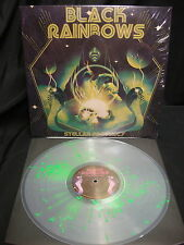 Black Rainbows Stellar Prophecy LP Clear Splatter Vinyl Fu Manchu Monster Magnet