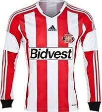 SUNDERLAND 2013/14 HOME SHIRT TAGS LONG SLEEVE XLARGE