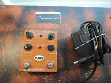 T-REX REPLICA DELAY/ECHO EFFECTS PEDAL w/POWER SUPPLY TAP TEMPO FREE USA SHIP