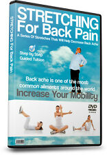 Back Ache, Back Pain - Alleviate Back Problems With This DVD - Stretching