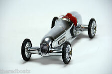 "1934 Mercedes Benz Silver Arrow Model Formula Racing Car 12"" Red Seat PC014R"