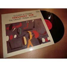 GUY LUKOWSKI & PHILIPPE LEMAIGRE la guitare et l'espagne FERNANDO SOR -PAVANE Lp