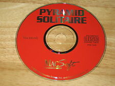 Pyramid Solitaire Mac CD-ROM MacSoft WizardWorks Group 1995 for Apple Macintosh