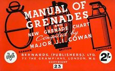 ESERCITO USA - Grenades and New Grenade Chart 1944 Manual - DVD