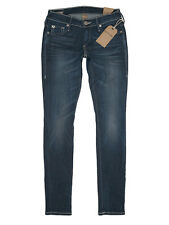 $328 NEW True Religion Casey - Low Rise Super Skinny Jean - Size 24