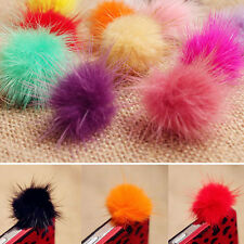 Kawaii Rabbit Fur Ball Earphone Ear Cap Anti Dust Plug Cover 3.5mm For CellPhone