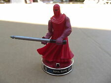 STAR WARS ATTACKTIX BATTLE FIGURE ROYAL GUARD SILVER CHROME BASE