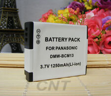 Digital Camera Battery for PANASONIC DMW-BCM13 Lumix DMC-TZ40 DMC-ZS30 1250mAh