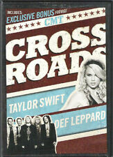 Taylor Swift with Def Leppard CMT Crossroads DVD BRAND NEW SEALED SHIPS NEXT DAY