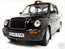 1998 TX1 LONDON TAXI CAB BLACK 1/18 DIECAST MODEL CAR BY SUNSTAR 1120