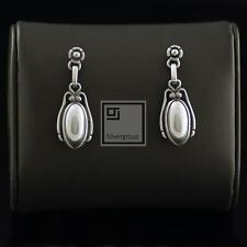 Georg Jensen Silver Earrings of The Year 2009 - HERITAGE COLLECTION