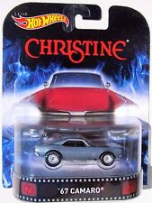HOT WHEELS RETRO CHRISTINE 1967 CHEVY CAMARO REAL RIDERS