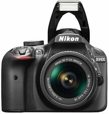 Nikon D3400 DSLR Camera with AF-P DX 18-55mm G VR and 70-300mm G ED Lens