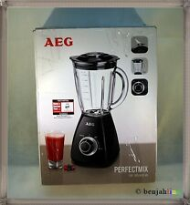 AEG SB185 Standmixer 450 Watt Mixer 1,5 Liter Glaskrug Smooties Crushed Ice