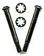 2 S295 MOTOR SCREWS LOCK WASHERS for American Flyer STEAM ENGINES O Gauge Train