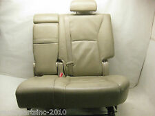 2007 Toyota Highlander Hybrid Rear Right Bench Seat Tan Leather 08 09 10