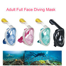 Scuba Full Face Diving Mask Snorkel Set Swimming Suits For Gopro Action Camera