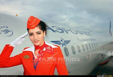 AEROFLOT - Russian Airlines Flight Attendant Stewardess Red Summer Uniform