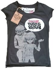 AMPLIFIED Official GORILLAZ Plastic Beach Rock Star Vintage ViP T-Shirt g.L 42