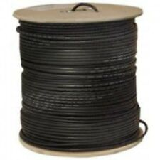 100'FT CAT6'e OUTDOOR UNDERGROUND BURIAL CABLE WIRE WATERPROOF UV THICK 23-AWG