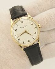 Vintage IWC Caliber 89 Hand-Winding 18K Yellow Gold 33mm Circa 1960s Watch