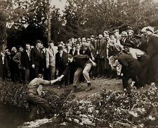 RARE STILL JOHN WAYNE FROM THE QUIET MAN CAST MEMBERS FIGHT #1