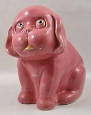 Dog Planter Darco Troy Pink Vintage 1950's Japan