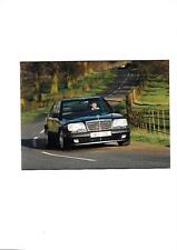 MERCEDES BENZ  E 500 LIMITED EDITION PRESS PHOTO