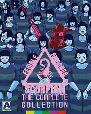 FEMALE PRISONER SCORPION: THE COMPLETE COLLECTION (NEW BLU-RAY)