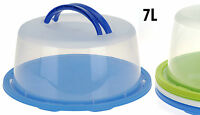 Large Plastic 12''/34 cm Cake Cheese Dome Cover With Lockable Lid