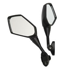 Motorcycle Black Rear View Mirrors For Kawasaki NINJA 650R ER-6F 09-12 Z1000SX