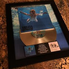 Nirvana Nevermind Platinum Record Disc Album Music Award MTV RIAA Kurt Cobain