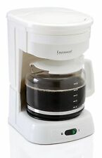 Continental Electric CE23611 12 Cups Coffee Maker - White