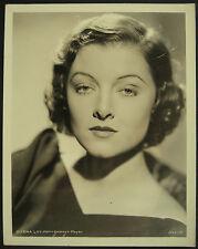 Vintage Myrna Loy Portrait c.1935 MGM Spanish Publicity Photograph