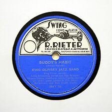 "KING OLIVER'S JAZZ BAND ""Buddy's Habit / Tears"" (E+) HOT JAZZ CLUB HC-37 [78]"