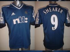 Newcastle United SHEARER Shirt Adidas Jersey Adult Medium Football Soccer Top NB