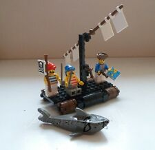 !! Vintage 1989 Lego Pirates 6257 Castaway's Raft Complete With Instructions !!