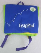 Leap Frog LeapPad Storage Carrying Case Backpack Bag Tote Blue/Green