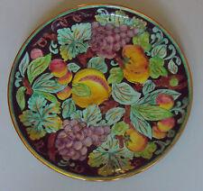 Monaco. Cerart. Plat en faïence à décor de fruits, XXe siècle
