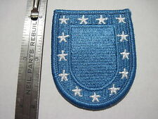US Army Light Blue STANDARD BERET FLASH with Stars patch new