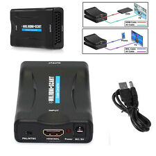 MHL/HDMI To SCART Converter Adapter 1080P Composite Video Stereo Audio Adapter