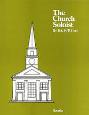 Eric Thiman The Church Soloist - Eight Sacred Songs Learn Vocal Music Book