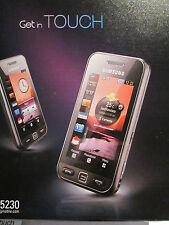 Samsung GT s 5230 OVP simfrei accessoires paquet Manuel super O.K Gebr. art.506/2