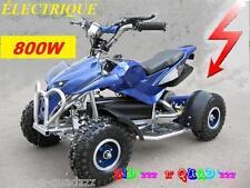 Pocket Quad électrique Enfant 36V 800W sportif COBRA 800 35 km/h Bleu/Noir