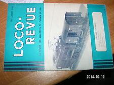 Loco Revue n°74 Piece de 340 mm sur voie ferrée Evolution Type 230 Orleans Midi